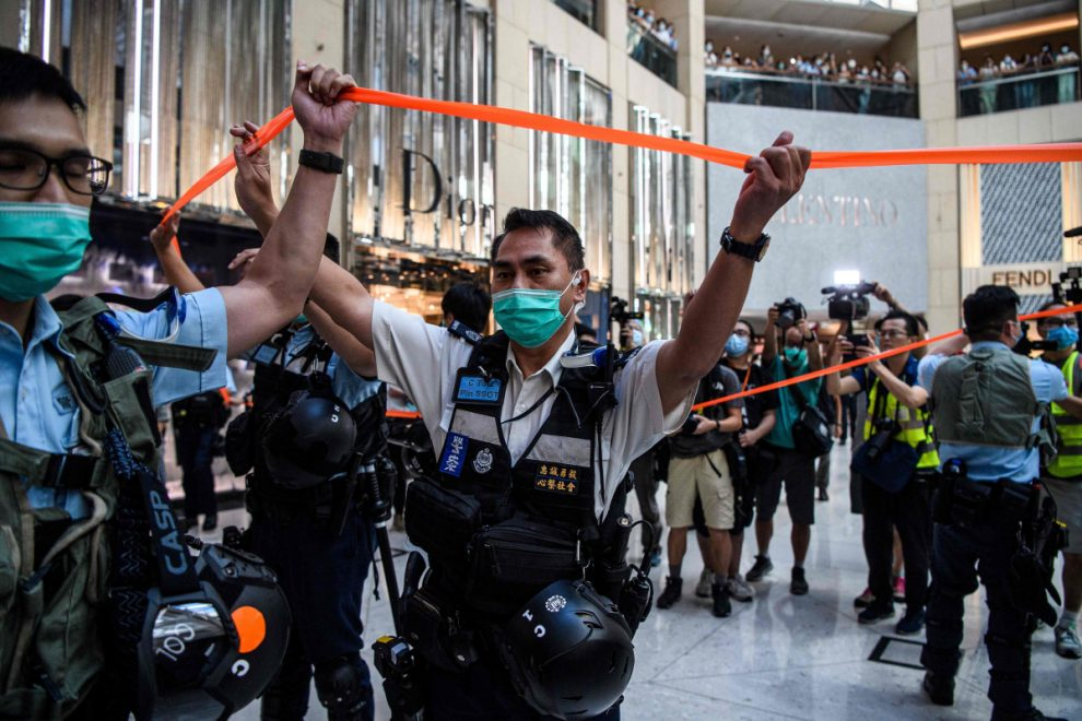China passes feared Hong Kong security law as campaigners warn city will become 'secret police state'