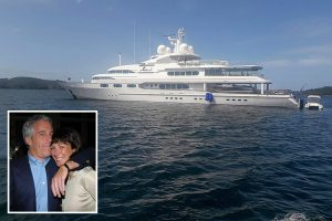 Mystery as superyacht linked to Epstein 'madam' Ghislaine Maxwell spotted in New Zealand