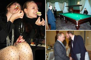 Unseen photos of Vladimir Putin's secretive daughters 'leaked in revenge by strongman's arch-enemy'