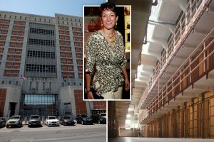 Ghislaine Maxwell in for 'crushing experience' at hellhole jail where inmates are dying to batter her, ex-warden reveals