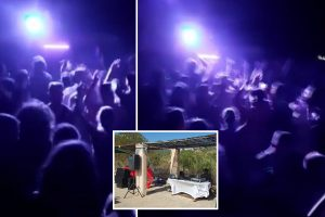 Massive illegal raves 'filled with Brits break out all-over Majorca as revellers pay €100 to party without masks'
