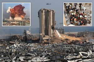 Beirut explosion – Frantic search for hundreds of survivors trapped under rubble after blast so big it tore off clothes