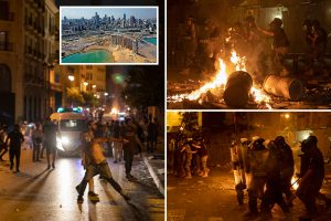Beirut explosion 'triggered by rocket or bomb' Lebanon president fears, as riots erupt blaming 'corrupt elite'