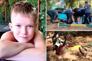 Boy, 11, crushed to death by 2-tonne concrete slab in playground