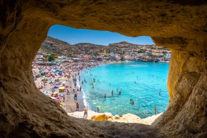Brit holidaymakers gamble on Greece in last-ditch bid for a summer holiday as bookings surge
