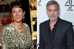 Ghislaine Maxwell 'boasted about performing sex act on George Clooney', Virginia Giuffre claims