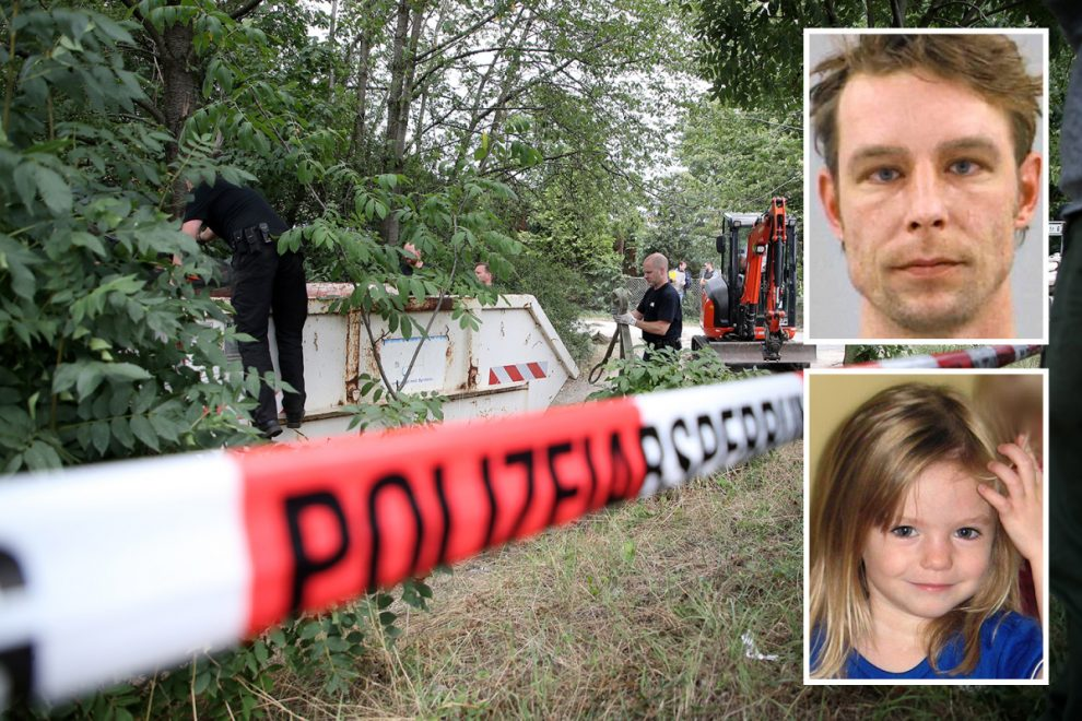 Madeleine McCann cops searching Christian B's cellars for key evidence of MURDER not just abduction, BILD boss claims